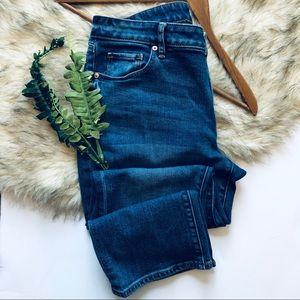 Loft Curvy Kick Crop Denim Jeans (8)